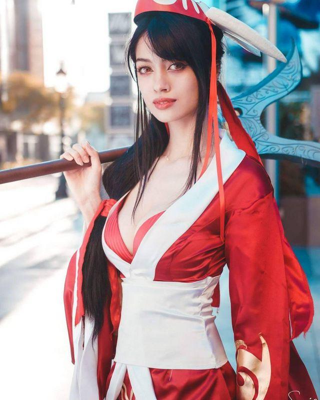 越南正妹Qilin不仅是电玩高手还是性感Coser